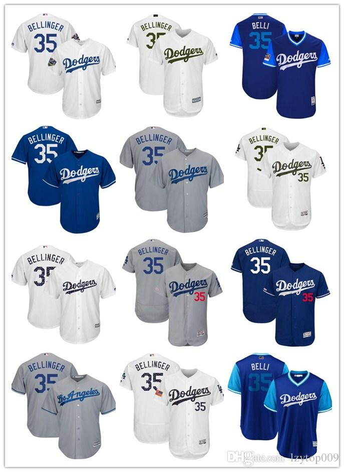 d7abc6362689f 2019 Men'S Dodgers 35 Cody Bellinger Majestic Royal Cool Base Player Los  Angeles Women Kids Jersey From Lzytop009, $22.33 | DHgate.Com