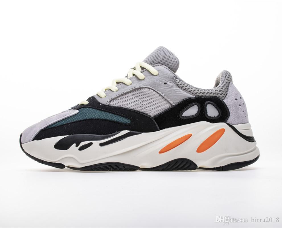 7f8f748705b86 2019 Mens Mauve 700 Running Shoes Kanye West Wave Runner Athletic ...
