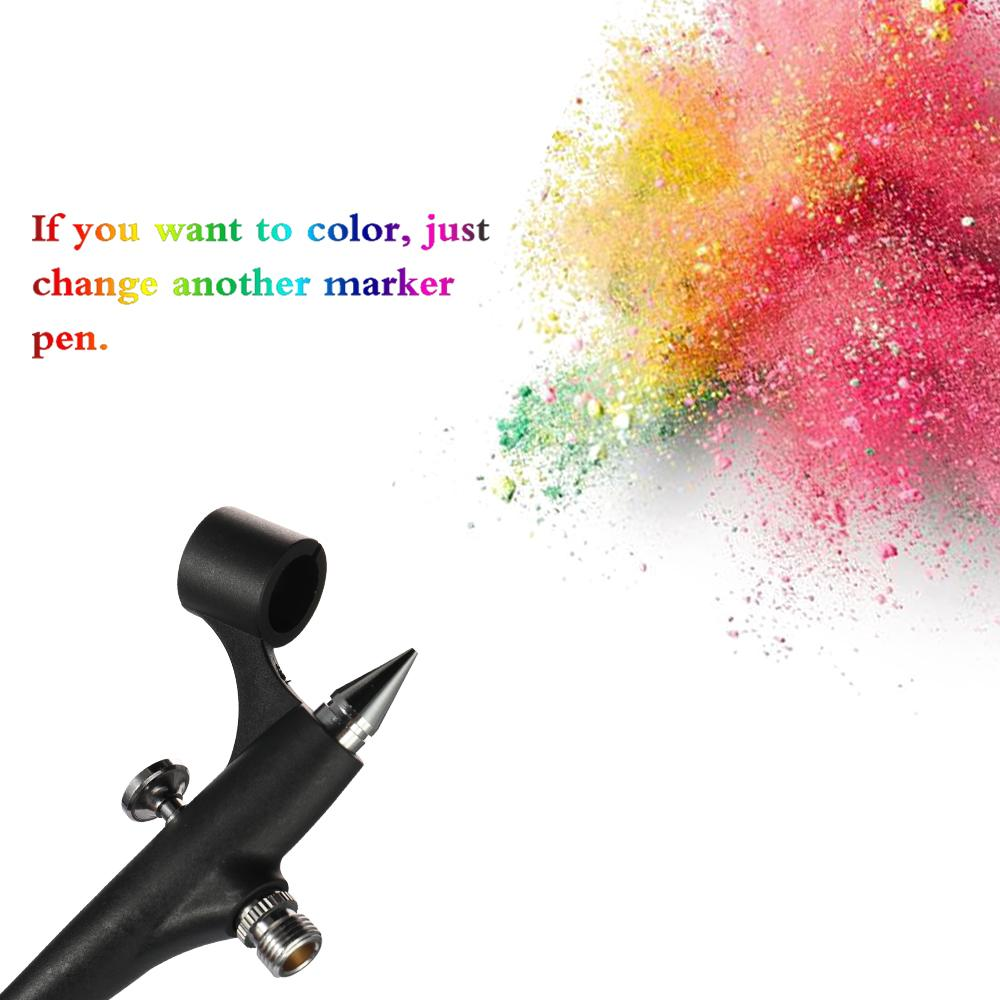 Attrezzo di modello pneumatico leggero portatile della macchina dello spruzzo della penna di marcatura di mini formato con lo spruzzo di progettazione di arte della scatola di plastica del prodotto