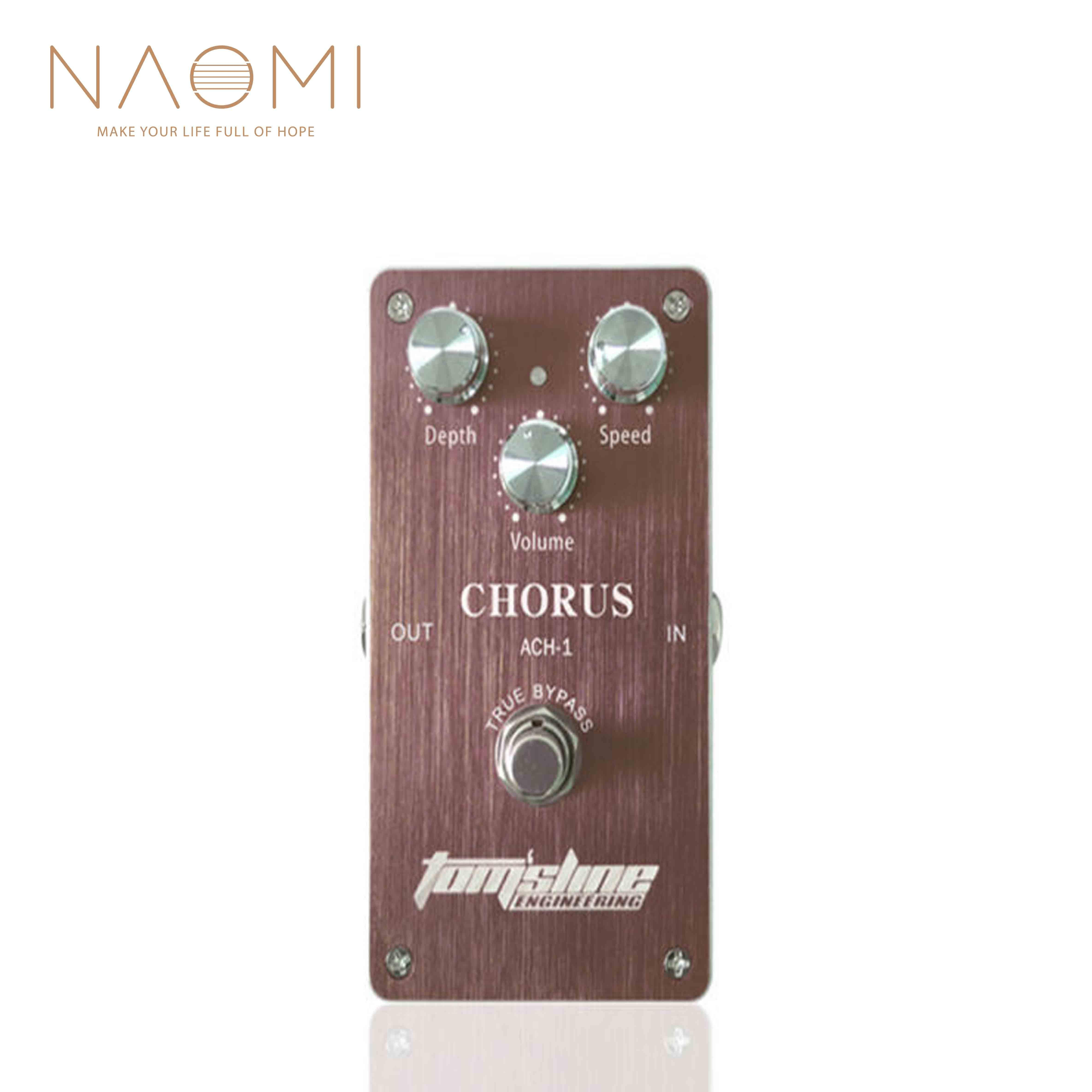 tomsline engineering  NAOMI Aroma New TOM'SLINE Engineering Pedal Guitar Effect Pedal ACH-1  Chorus True Bypass
