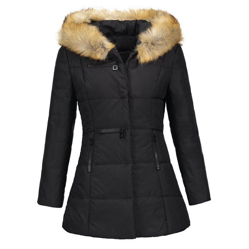 4afc7f48f753e Women Faux Fur Coats Casual Vintage White Plus Size Warm Winter Slim ...