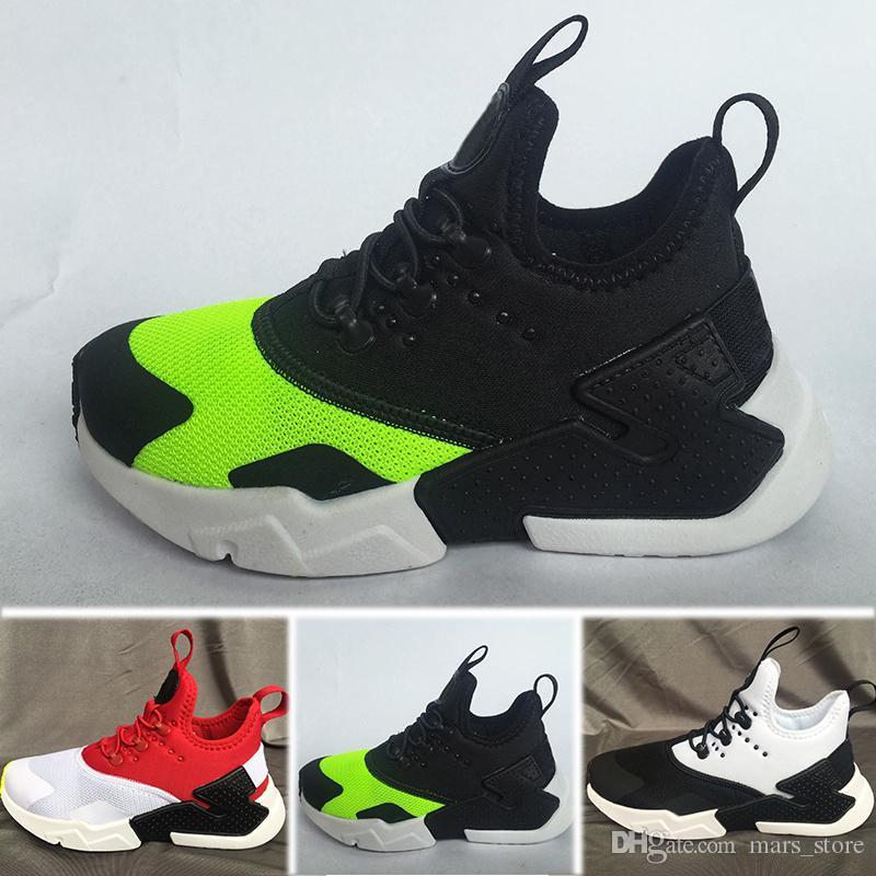 super popular 4815d add46 Acheter Nike Air Huarache New Kid Air Huarache Sneakers Chaussures Pour  Garçons Grils Enfants Baskets Hurache Jeunes Enfants Huaraches Sports  Chaussures De ...