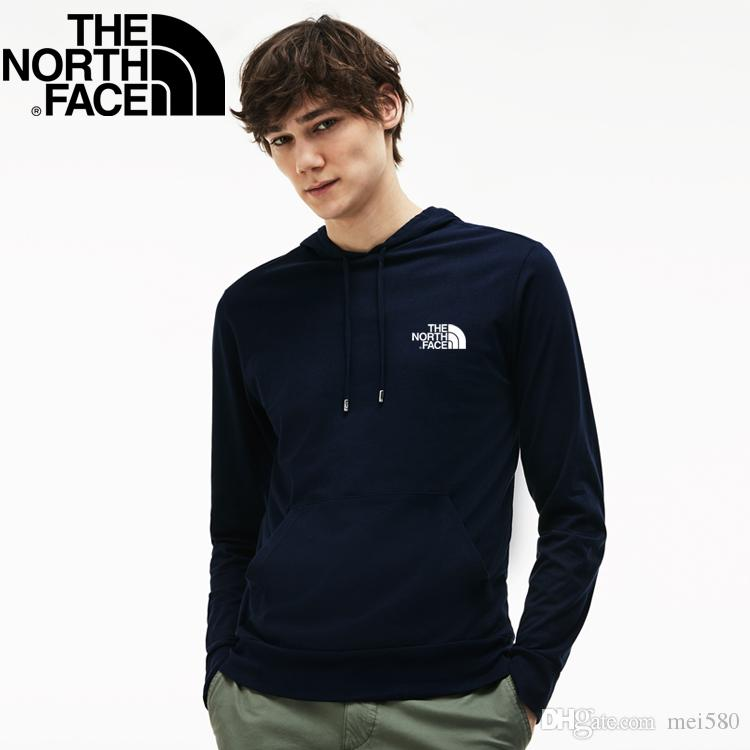 b88340328 2019 Men The North Face® Cartoon polo Hoodies Sweatshirts autumn winter  casual with hood sport jacket and trousers tracksuit men s Sweate