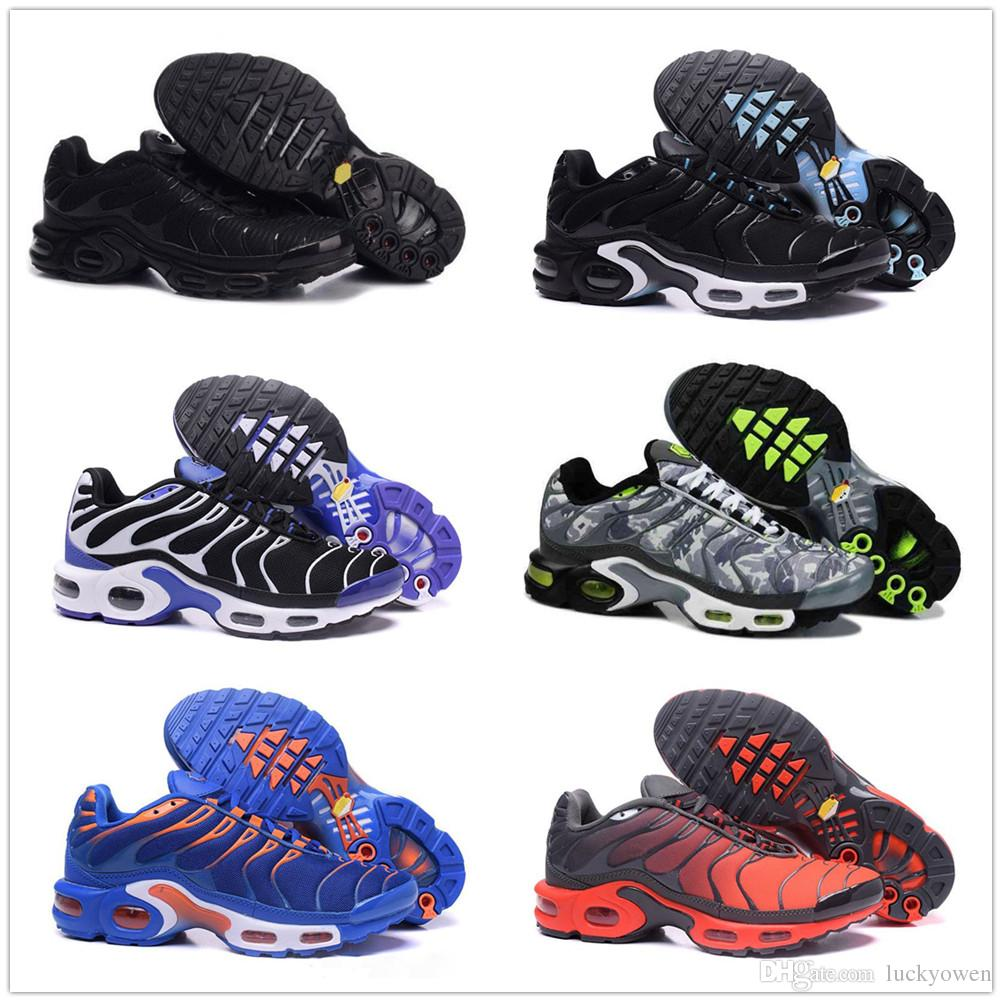 photos officielles e18c0 acf98 nike TN plus air max airmax Haute Qualité Sports Chaussures De Course New  TN Hommes Noir Blanc Rouge Hommes Respirant Runner Baskets Homme Baskets ...