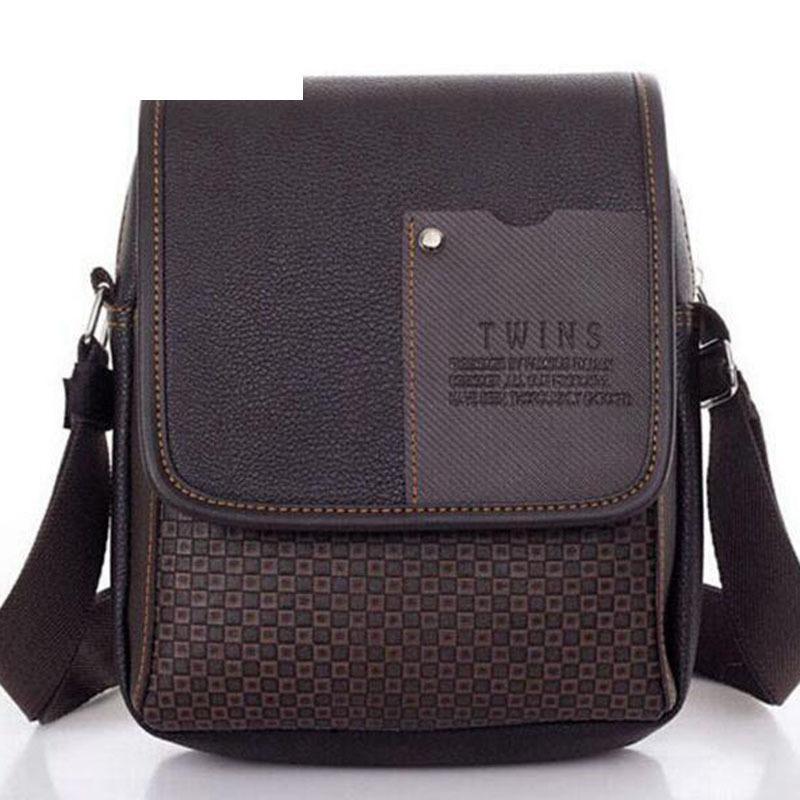 37632990a6 Lowest Price 2019 New Hot Sale Pu Leather Men Bag Fashion Men Messenger Bag  Small Business Crossbody Shoulder Bags A40 293 Handbag Wholesale Hobo Purses  ...