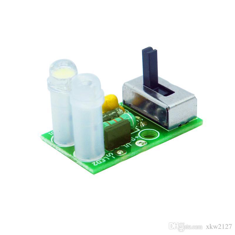 Solar LED light control driver board 5252f Solar LED lawn light QX5252F  Circuit diagram design