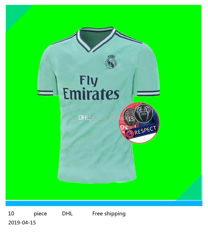 info for cbe95 51e52 2019/20 Real Madrid third Soccer Jersey green NEW soccer shirt #20 ASENSIO  ISCO MARCELO madrid 19 20 Football uniforms