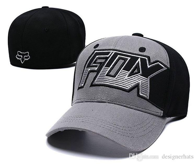 Hot Sale Brand Fashion Basketball Hat Designer Baseball Cap Football Luxury  Fox Head Elastic Cap High Quality Women S Sports Hats Golf Hat Baseball Caps  ... b67336ed9c2