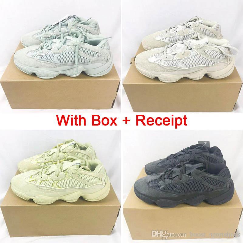 cde991b1a New 500s Salt BLUSH Super Moon Yellow CONFIRMED Desert Rat 500 Utility Black  Wholesale Casual Shoes DMX Men Trainers Women Clunky Sneaker Mens Running  Shoes ...