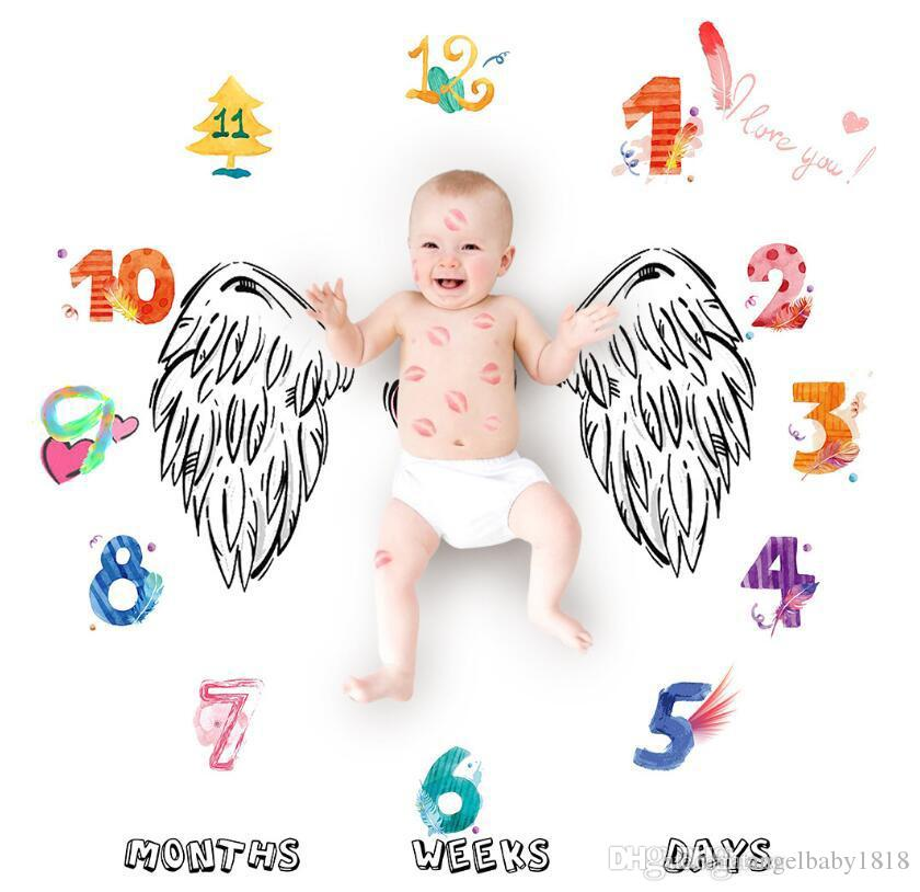 780fb66ec Wholesale Infant Baby Blanket Photo Photography Prop Blankets Backdrop  Cloth Calendar Baby Boy Girl Photography Fabrics Accessories Designer Baby  Blankets ...