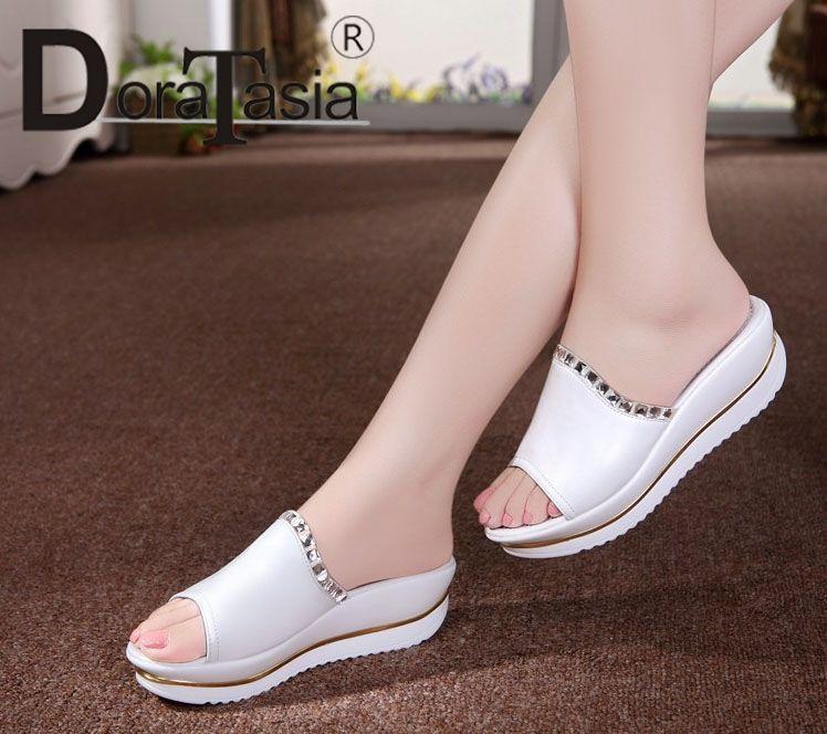 verano zapatos casuales nueva moda plataforma plana
