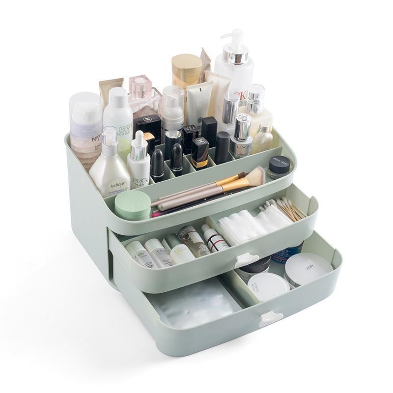 Creative Plastic Drawer Storage Box Multi-Function Home Bathroom  Multi-Layer Large Capacity Cosmetics Toiletries Storage Boxes