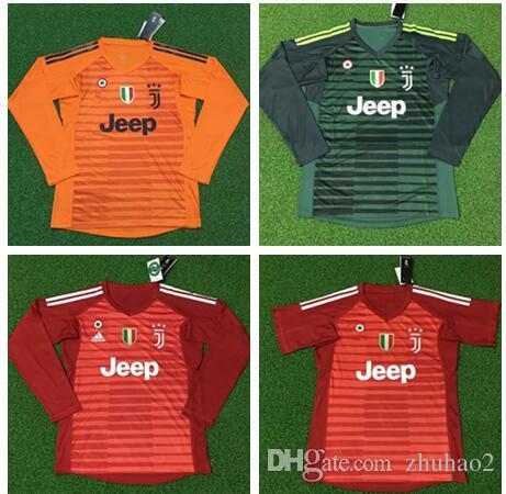 Compre 2018 19 Futebol Juventus Goleiro Jersey SZCZESNY BUFFON Ronaldo  DYBALA HIGUAIN Camisa De Futebol De Manga Comprida Uniformes De Goleiro De  Zhuhao2 b0f031e036d12