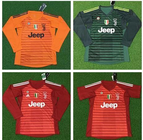 093991c86 2019 2018 19 Soccer Juventus Goalkeeper Jersey SZCZESNY BUFFON Ronaldo  DYBALA HIGUAIN Football Shirt Long Sleeve Goalie Uniforms From Zhuhao2
