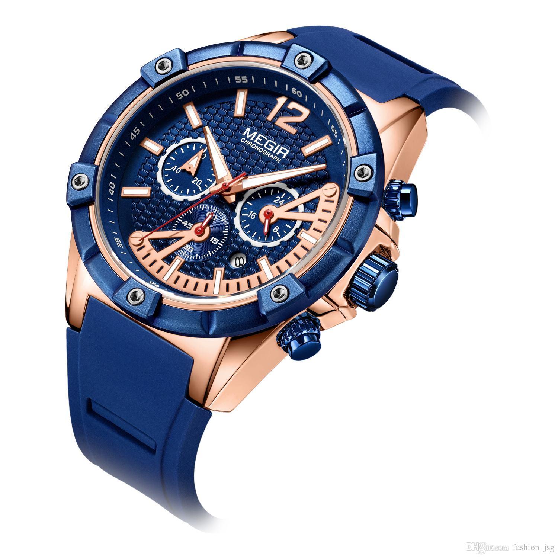 01d23c3da4f2 Compre BRW Hombres Deportes Cronógrafo Relojes De Pulsera De Cuarzo  Ejército Silicona Cronómetro Impermeable Relojios Masculinos Hombre Reloj  2083 A  50.24 ...