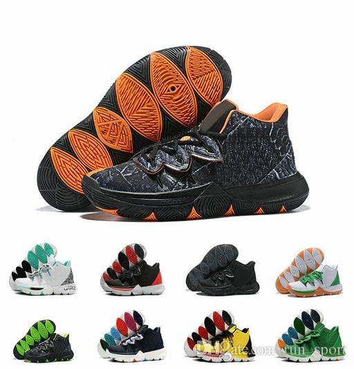 b0ba6f435aa7 Best Basketball Shoes Kyrie Taco Black Magic 5s Irving 5 3M Men Sneakers  Mens Designer Shoes Kyrie Size US 7 12 Basketball Games Tennis Shoes From  Run sport ...