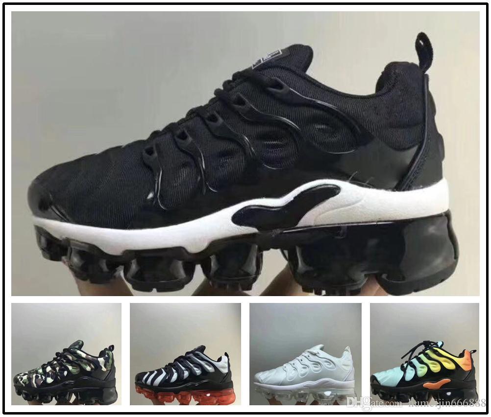 check-out 6c727 1d88d nike TN air max airmax vapormax Enfants Plus Tn Enfants Parent Enfant  Casual Chaussures Pour Bébé Garçon Fille Styliste De Mode Sneakers Courir  En ...
