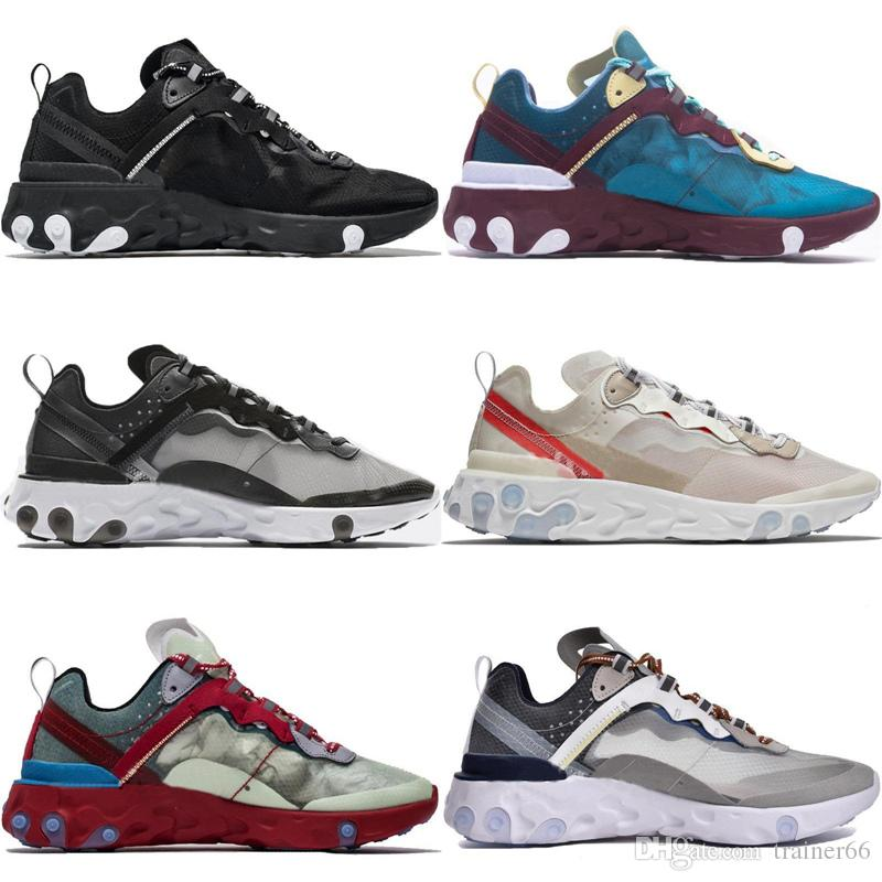 c7b7afb16f7db 2019 UNDERCOVER X Upcoming React Element 87 Parra Brand Men Women Trainer  Men Women Casual Jogging Designer Running Shoes Sneakers From Trainer66