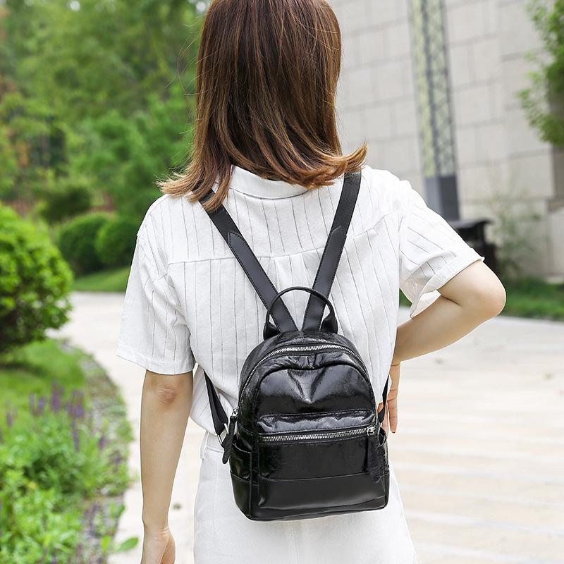 JIULIN 2019 Korean version of laser double shoulder bag women and girls take advantage of the network celebrity Mori backpack