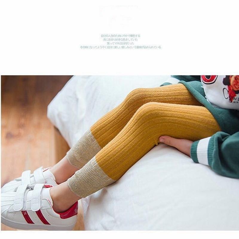 ade408143 Compre 2019 Primavera Outono Bebê Meninas Leggings De Algodão Menina Skinny  Calça Casual Nova Chegada Crianças Crianças Leggings Para Meninas De  Cynthia01