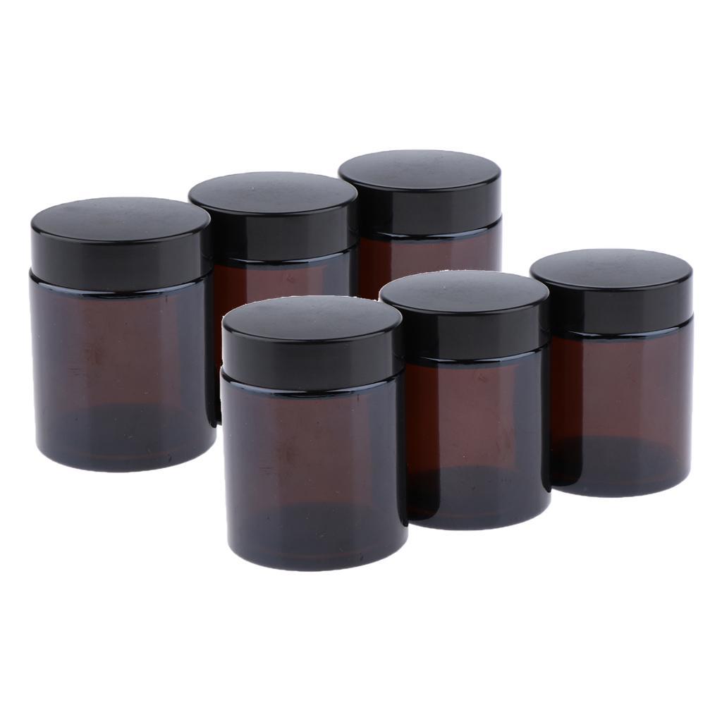 5/dispenser a goccia in LDPE con tappo 5x 100 ml trasparente