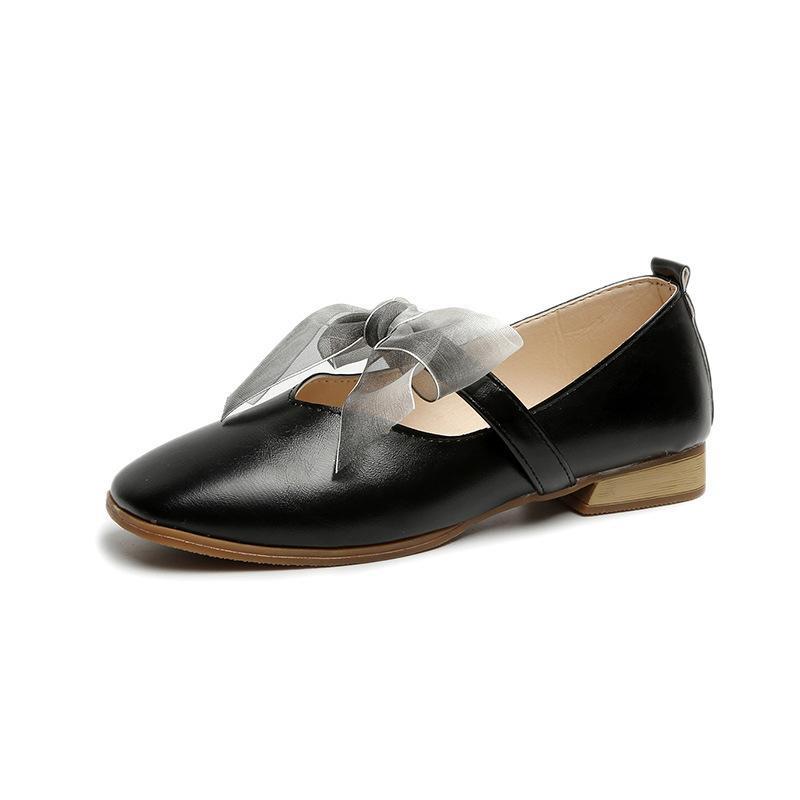 6864b592 Compre Zapatos De Vestir 2019 Primavera Cinta Mujer Tacones Bajos Y Gruesos  Cinturón Bombas Ol Señoras Calzado Primavera Riband Bow Mary Jeans Mujeres  Boda ...