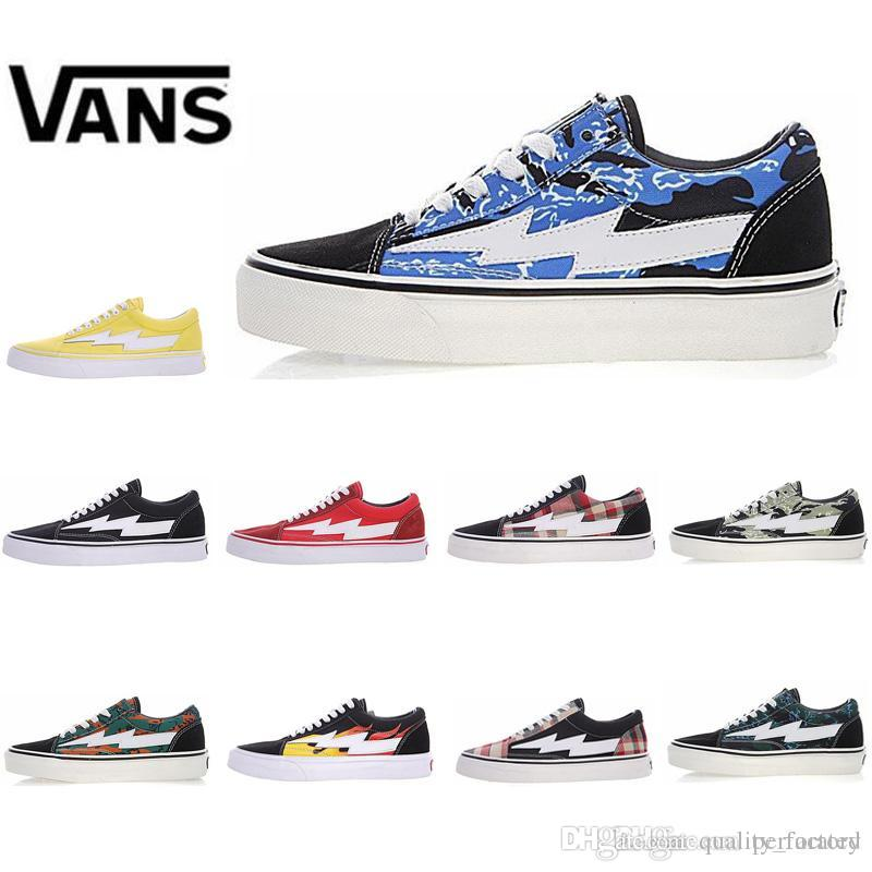 e114eaef7d01 2019 New 2018 Vans Revenge X Storm Old Skool Canvas Men Shoes Men S  Sneakers Skateboarding Sports Shoes Women Skate Shoes Womens Sport Boots  From ...