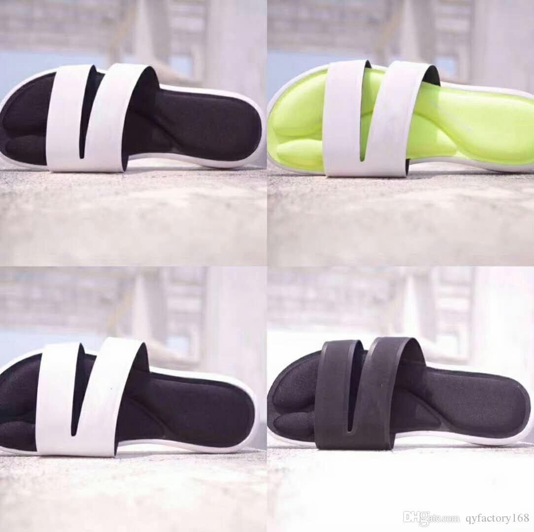 e00256982f AAANew Men S And Women S Sandals Designer Shoes Luxury Slides Summer  Fashion Wide Smooth Belt Thick Sandals Women Slippers With Box Mens Shoes  Combat Boots ...