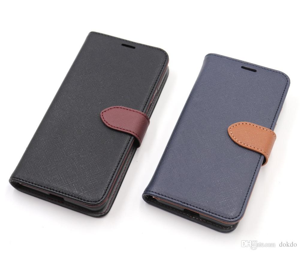 9754f80cae Étui portefeuille amovible en cuir Saffiano en cuir PU pour iPhone 6s 7 8  10 Xs XR MAX pour le téléphone portable Samsung Note 9 s8 avec fonction ...
