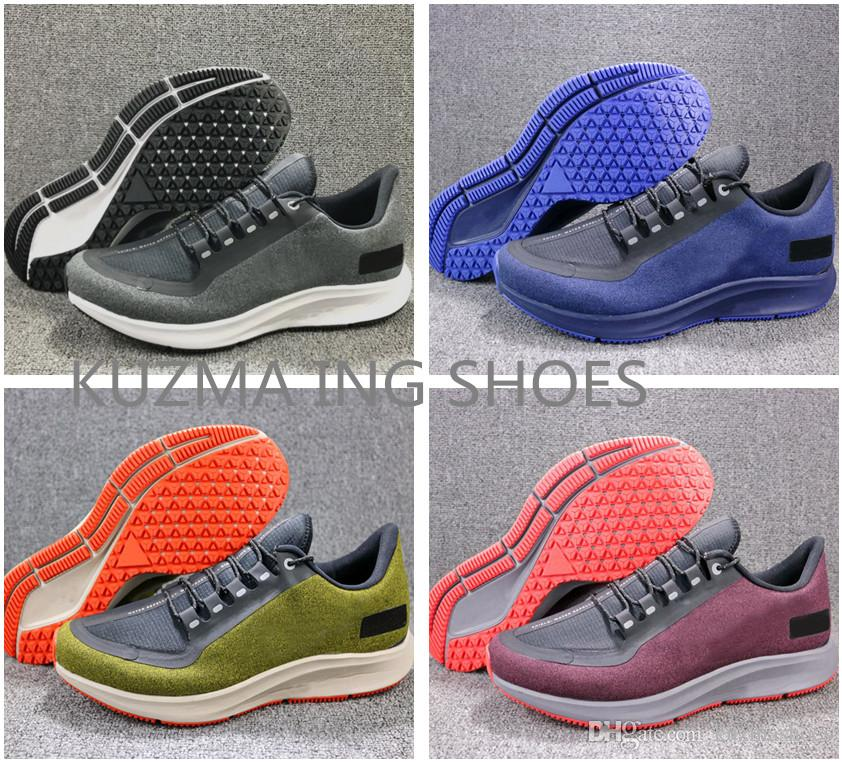 a67d71f92898 New ZM Pegasus 35 Shield Turbo Barely Grey Wine Hot Punch Black Running  Shoes Mens React Zoom X Vaporfly Pegasus 35 Trainers Zapatos Sneakers Air  ZM Beluga ...