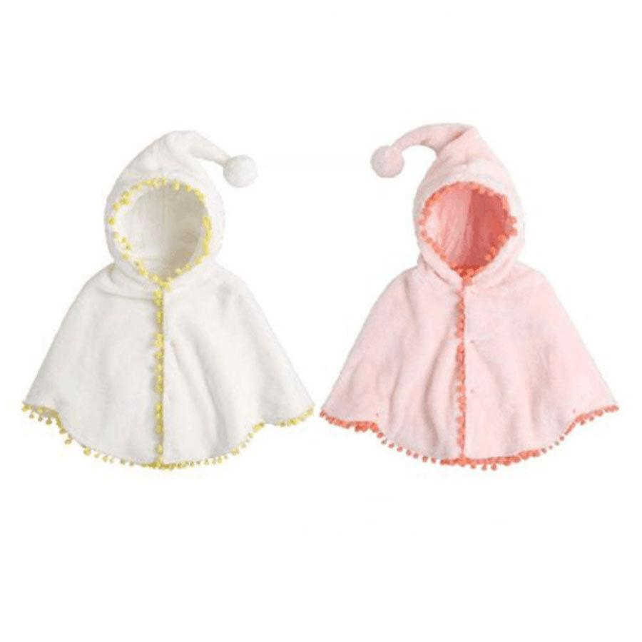 7470adc5b Baby Kid Girls Autumn Winter Long Sleeve Hooded Casual Warm Cape Cloak  Poncho Coat Hoodie Jacket Outwear Toddler Jackets For Boys Cool Jackets For  Boys From ...