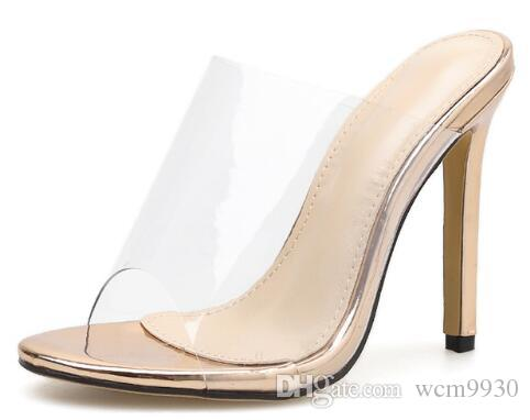 Sandalias Para Champán Mujeres Tacones Compre 2019 Moda Altos Mujer ZiuPXOk