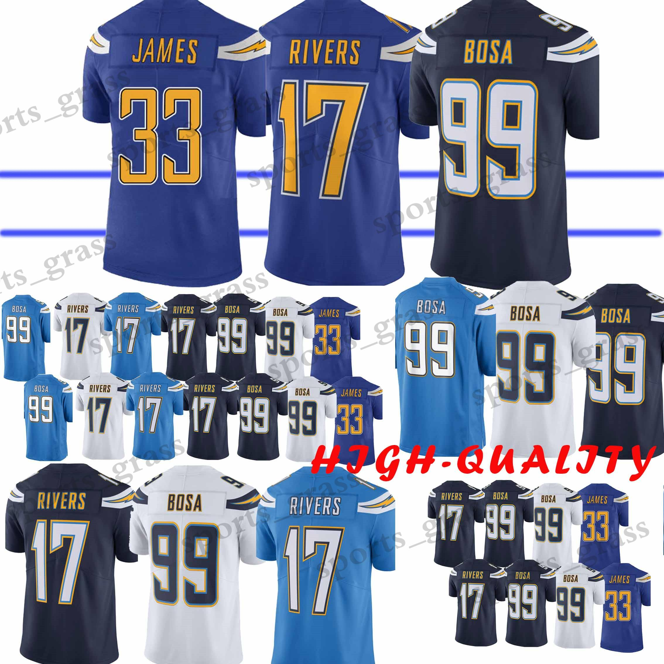 99 joey bosa limited electric blue rush spain 2019 99 joey bosa los angeles  charger jersey 17 philip rivers 33 derwin james top 1ee451c97