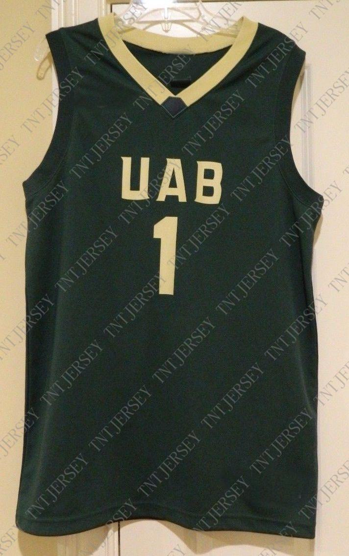 744b20f38c4 2019 Cheap Custom UAB 1 Basketball Jersey Stitched Customize Any Number  Name MEN WOMEN YOUTH XS 5XL From Tntjersey, $19.8 | DHgate.Com