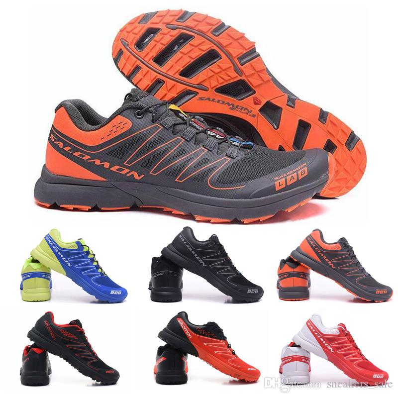 Classic Salomon S Lab Sense M Running Sneakers Best Quality Mens Shoes New Fashion Athletic Running Sports Outdoor Hiking Shoes Size 40 46
