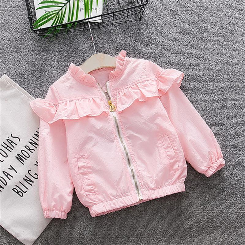 184ee24807ef BibiCola 2018 New Spring Girls Hoodies Baby Girls Coat Baby Kids ...