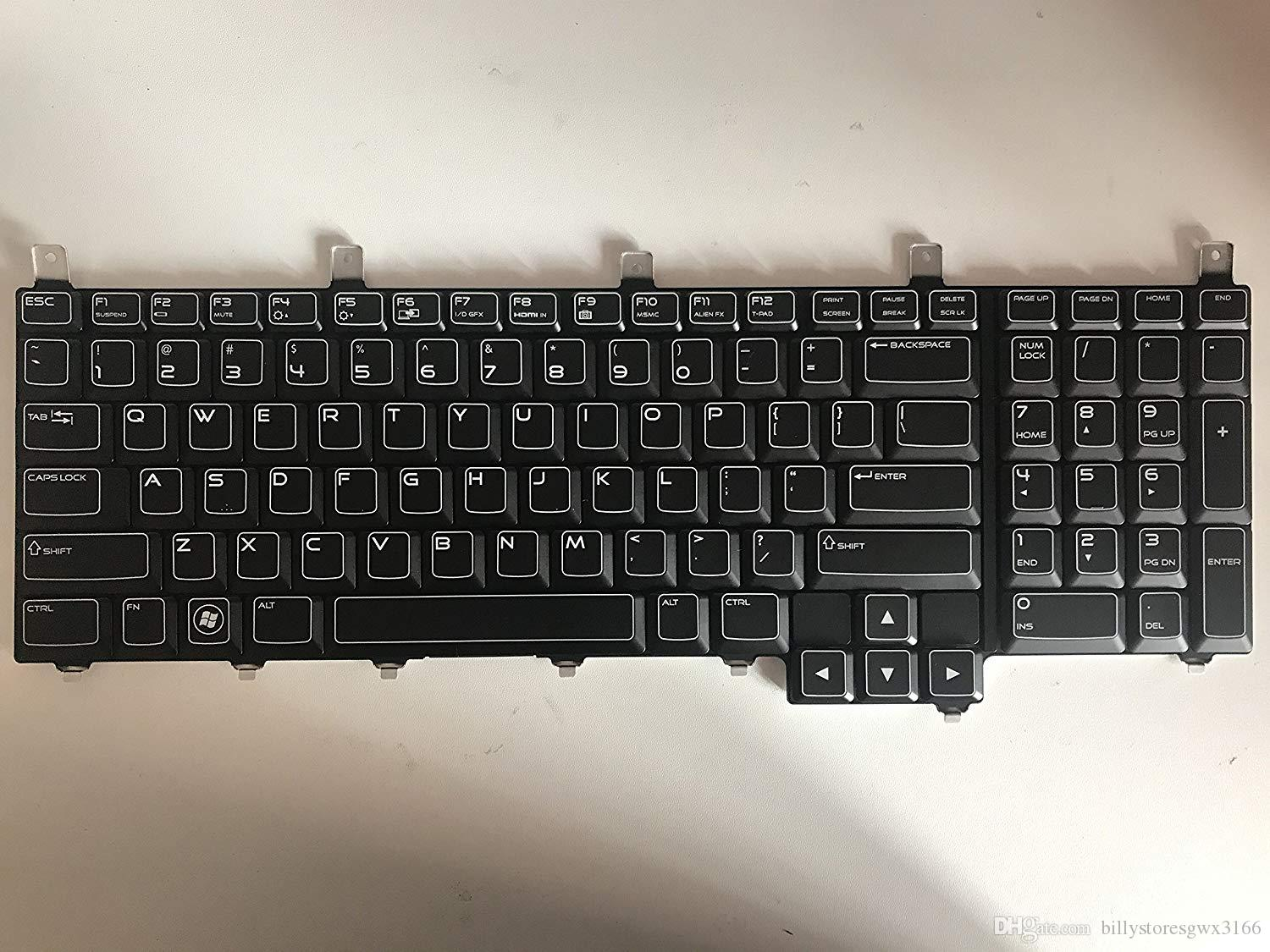 404d6442ae9 2019 Laptop Keyboard For Dell Alienware M17x R3 US Version With Backlit  Blue Cable NSK D8D01 PN:09M46F From Billystoresgwx3166, $65.33 | DHgate.Com