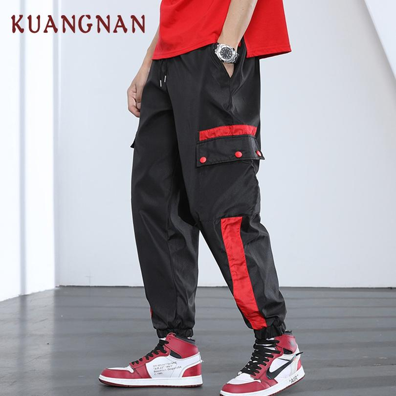 Male Long Sleeve Overalls Jumpsuit Harem Trousers Men Vintage Fashion Streetwear Hip Hop Casual Jumpsuit Cargo Pant Spare No Cost At Any Cost Cargo Pants
