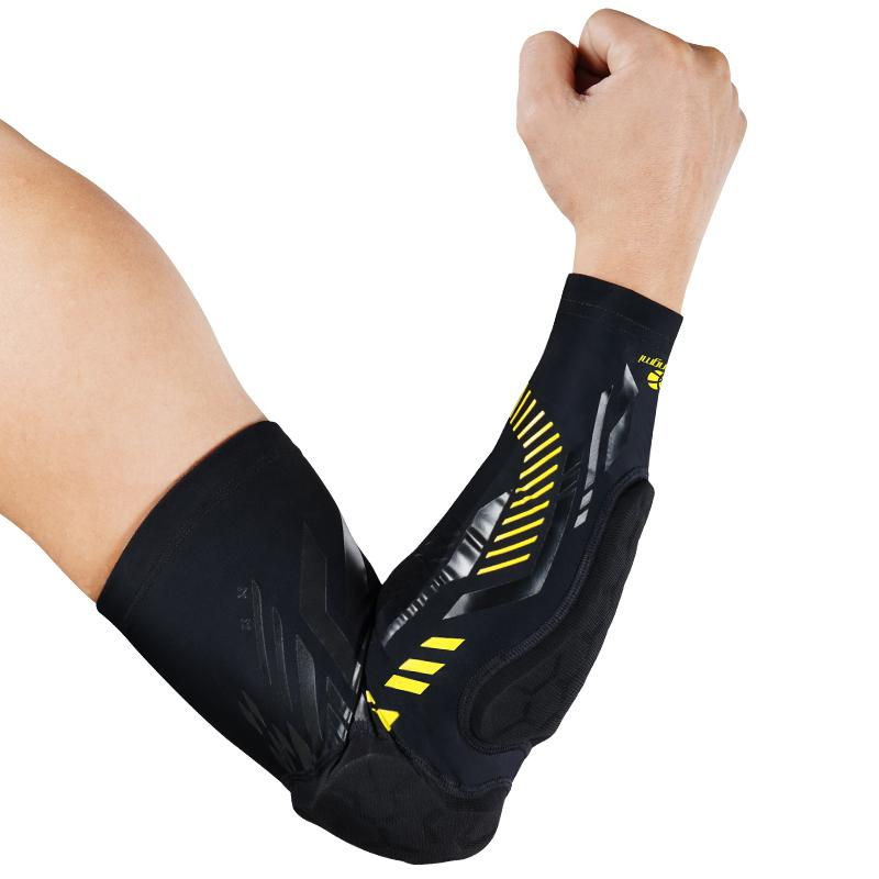 cf21057fc0 2019 Kuangmi Gym Sport Basketball Elbow Protector Shooting Anti Collision Arm  Sleeve Warmer Breathable Elbow Pad Support Safety From Orangeguo, ...