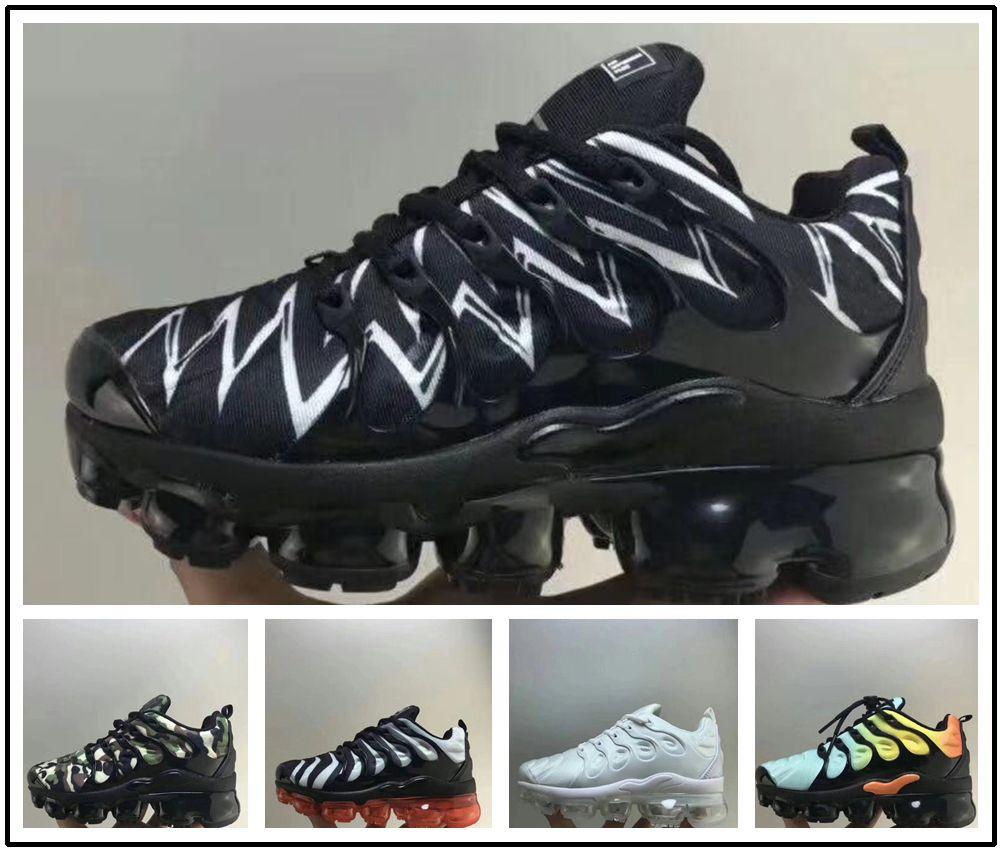 nike TN plus air max airmax 2019 Kids baby plus tn boy girl zapato para niños de alta calidad clásico entre padres e hijos atlético zapatillas de