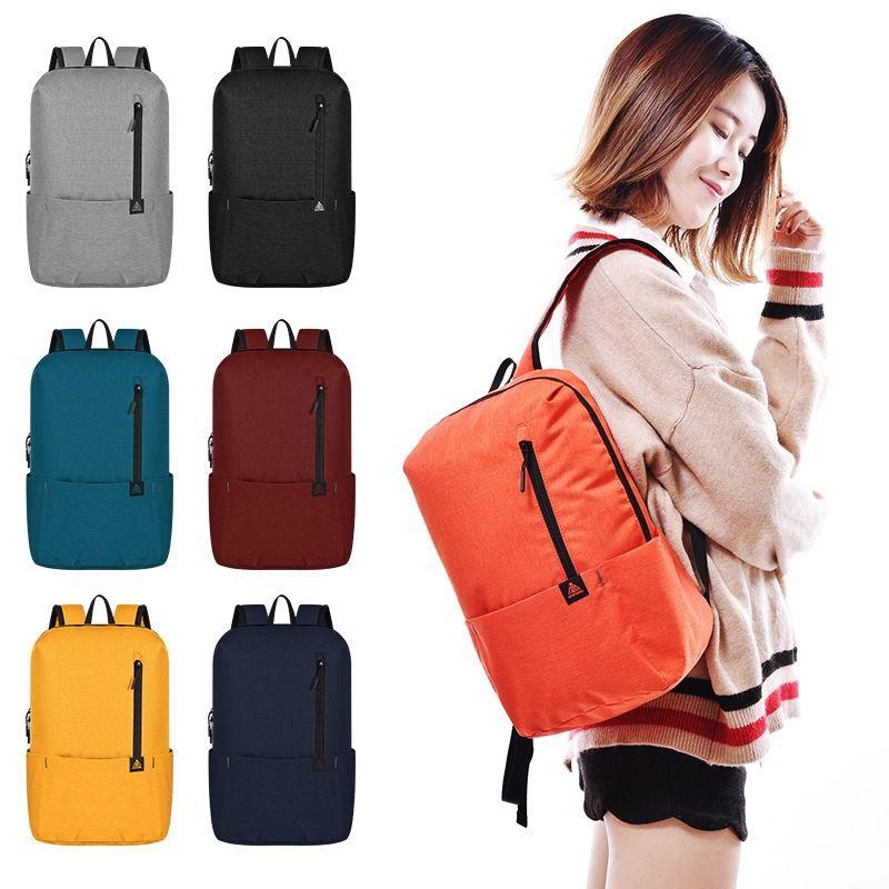 Travel Foldable Lightweight Backpack Women Men Sports Bag 10L School ... 67b0519934aff