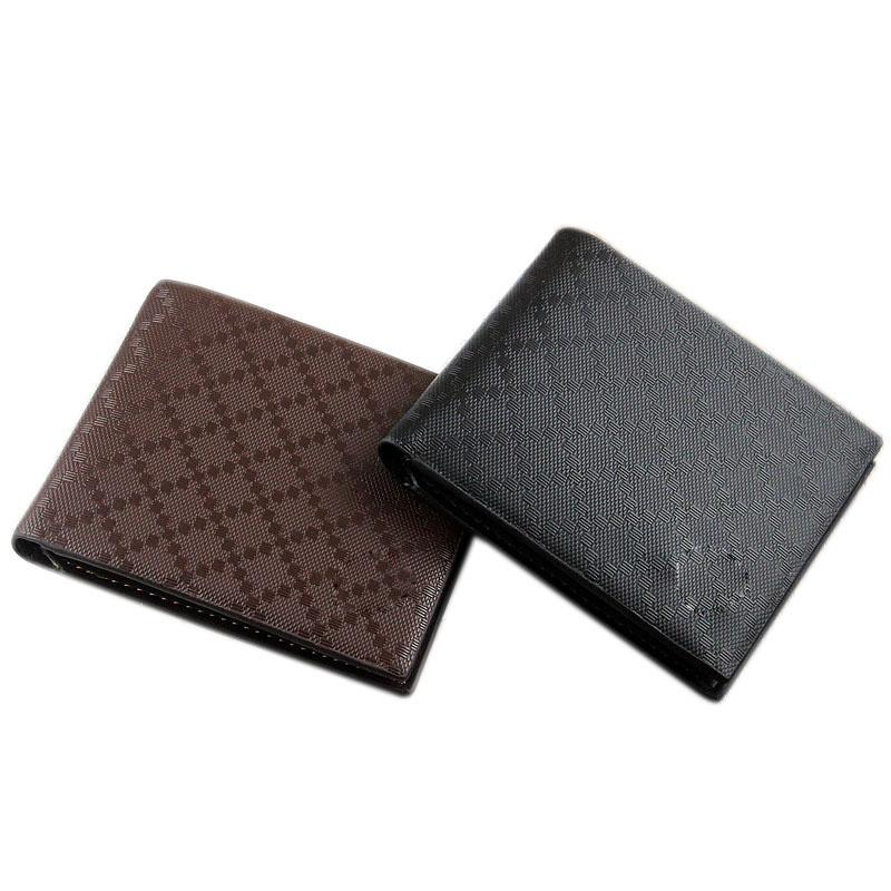 924d54986ba2 New Men Wallets Leather Short Fashion Plaid Business Casual Money Clip And  Purses Male Clutch Bags Hand Bag Card Fab Women Bag Handmade Leather Wallet  Best ...