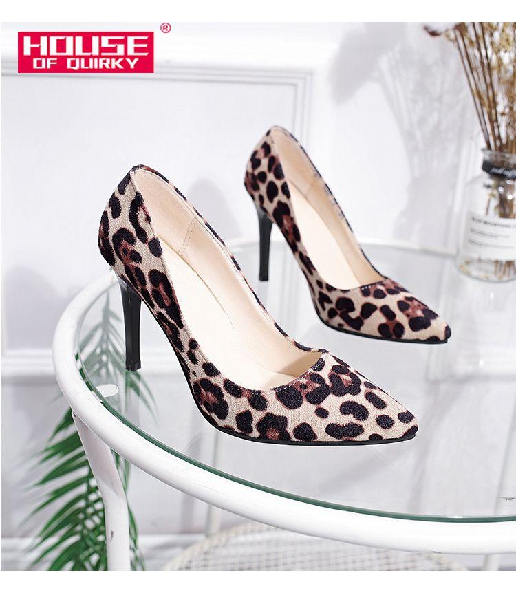 8f798434cb5 Shoes Luipaard Print Schoenen Vrouwen Super Leopard Print Heels 9cm Women S  With Heels Pumps Leopardo Zapatos Plus Size 34 41 Mens Casual Shoes Penny  ...