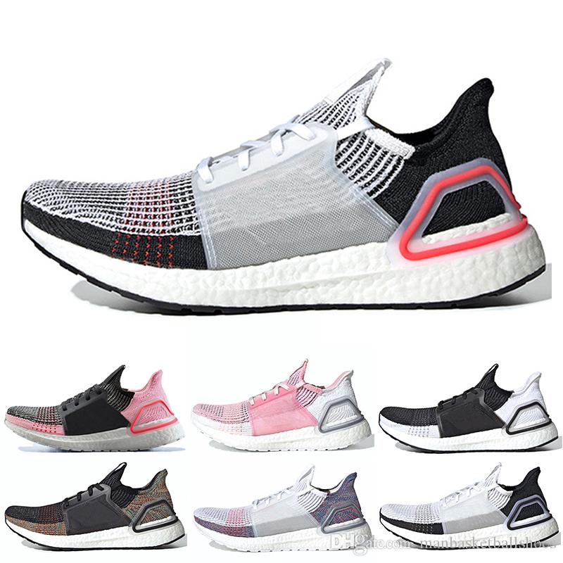 finest selection 80f36 d707f New Arrivals React Ultra Boosts 5.0 19 B37704 Mens Laser Red Running Shoes  Oreo Ultraboost Uncaged Women Sneakers Trainers Designer Shoes Skechers  Running ...