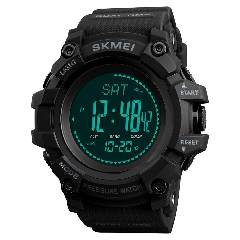 Digitale Uhren Uhren Neue Männer Sport Uhren Wasserdichte Outdoor Spaß Multifunktions Digitale Uhr Schwimmen Laufen Led Armbanduhr Montre Homme
