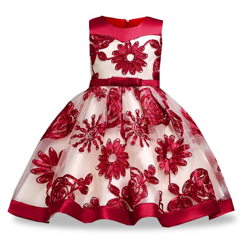 120b825cf Children Princess Girl Dress For Wedding Birthday Party Teenage Girl ...