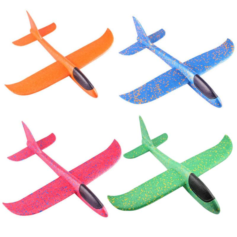 f2c828caba Compre 36 49 Tiro A Mano Aviones Planeador Volando Aviones De Espuma Modelo  EPP Resistente Breakout Aircraft Game Outdoor Toy Para Niños A  34.29 Del  ...