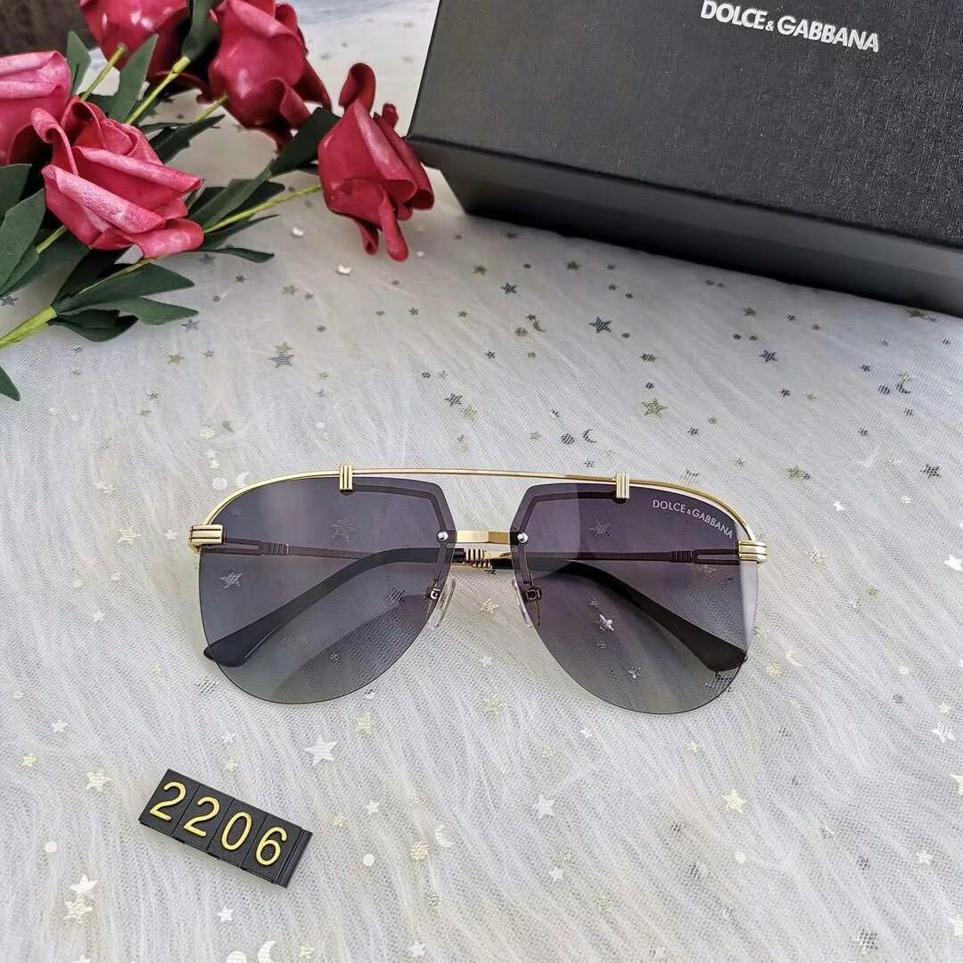 Luxury Sunglasses Designer Sunglasses Fashion Brand D2206 Designer Glasses for Man Glasses UV400 6 Colors Optional with Box High Quality