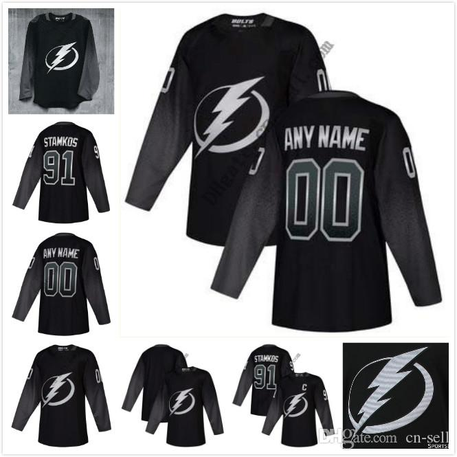 Tampa Bay Lightning Alternate Jersey Custom 86 Nikita Kucherov 91 Steven  Stamkos Victor Hedman Brayden Point Andrei Vasilevskiy UK 2019 From Cn  Sell b3bc0c529