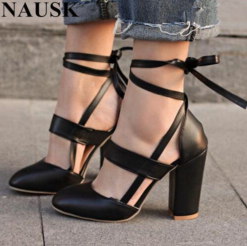 5415fdda Compre Zapatos De Vestir NAUSK Precio De Fábrica Sexy Gladiador Tacones  Altos 8 CM Mujer Bombas Vestido De Novia Mujer San Valentín Stiletto Tacones  Altos A ...